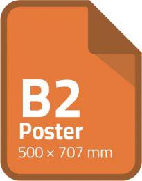Standaard poster B2