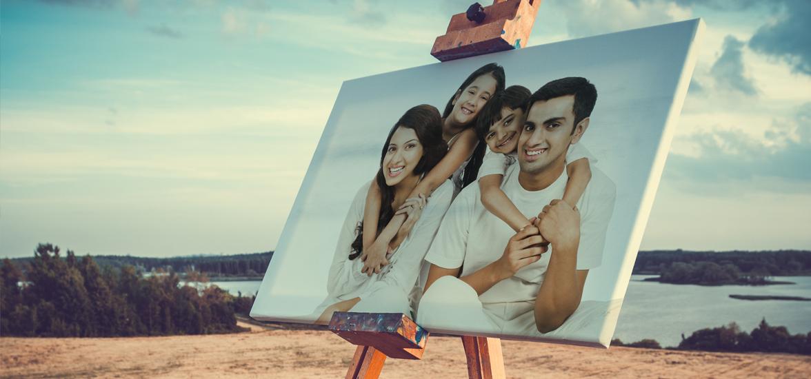 foto op canvas printen