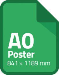 Standaard poster A0