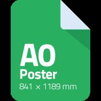 a0 poster printen afdrukken