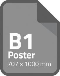 Standaard poster B1