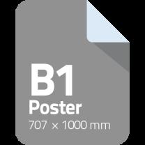 b1 poster printen afdrukken